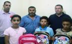 جمعية سلوان الثقافية وجمعية أنوال الخيرية يوزعان الأدوات المدرسية على اليتامى المتكفل بهم