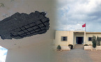 موظفو جماعة وردانة يدخلون مكاتبهم بالتشهد بسبب بناية آيلة للسقوط تنذر بكارثة انسانية