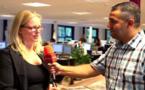 شاهدوا.. صحافية هولندية تتقن العربية وزارت مدينة الناظور في الصيف للقاء الجالية
