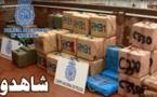 توقيف ثلاثة مغاربة في عملية تهريب 1245 كلغ من المخدرات