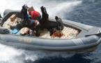 توقيف زورق مطاطي مُحَمّل بالمخدرات وعلى متنه ستة أشخاص بسواحل بالناظور