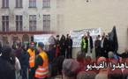 الجالية المسلمة بمدينة مالين البلجيكية تنظم مسيرة تدعو للسلم