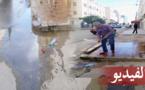 ساكنة حي أولاد بوطيب تشتكي من إهمال المسؤولين بعدما أبوا إصلاح أنبوب محطم بحيهم