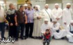 عودة الفوج الأول من حجاج المغاربة و إستقبال حار بمطار مايروكا الإسباني