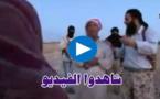 فيديو صادم.. داعش ترجم فتاة بالحجارة بتهمة الزنا حتى الموت أمام أنظار والدها