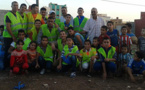 جمعية الصفاء لحي أولاد بوطيب الفوقاني في حملة تحسيسة حول المحافظة على البيئة