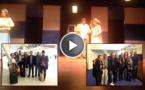 """حضور جماهيري كثيف من مغاربة هولندا ل""""دارت بنا الدورة"""" على خشبة المسرح الهولندي"""