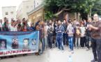 فرع المُعطّّلين بالعَروي في وقفَة يوم الإضراب ضدّ الغَلاء وتجمِيد الأجُور والبطالة