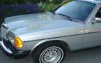 سرقة سيارة من نوع مرسيدس 240 بالسوق الاسبوعي خميس تمسمان
