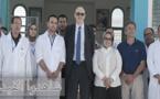 سفير الإتحاد الأوروبي في زيارة للدريوش.. عقد لقاءا مع مندوبة الصحة وزار المركز الصحي
