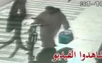 شاهدوا: كاميرا المراقبة تصور لص يسرق دراجة هوائية بالناظور