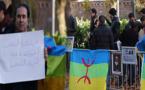الوقفة الاحتجاجية لبروكسيل تدعو إلى اعتماد الأمازيغية كمدخل للديمقراطية وترفض التقسيم الجهوي