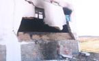 حريق مهول يتسبب بانهيار جزء من مسكن أحد المواطنين بجماعة تزاغين