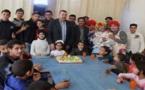 منظمة السنابل الوطنية فرع زايو تحتفي  بعيد ميلاد الطفلة سميحة بكوري