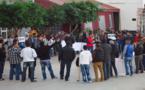 معطلي فروع التنسيق الإقليمي للدريوش يصعدون من وتيرة احتجاجاتهم