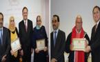 السفير المغربي بهولندا يكرم بعض مغاربة هولندا من الجيل الأول في حفل بهيج بروتردام