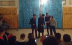 """جمعية مولاي موحند تقدم العرض المسرحي الرابع ل """"ثيرجا اكمضن"""" بإعدادية آيث حذيفة"""