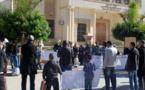 """معطلو الدريوش في مسيرة احتجاجية ضد اعتقال عضو الفرع المحلي """"إلياس الوزاني"""" القابع بسجن الناظور"""