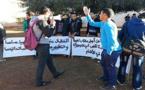 الخصاص والإكتظاظ يشعلان فتيل الاحتجاج بالثانوية التأهيلية تمسمان
