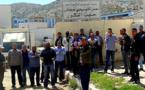 شغيلة معمل الحليب بآيت بوعياش يواصلون احتجاجاتهم ضد الطّرد التعسفي