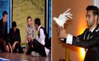 """تواصُل فعاليات مهرجان الحسيمة للمسرح بإمزورن.. وأحداف و فرقة """"مولاي موحند""""  تخطفان الأضواء"""