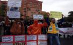"""الأمن و""""البلطجية"""" يمنعون احتجاج أمازيغ تاوادا بمراكش"""