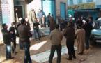 فرع أيث وريشش للمعطلين ينظم وقفة احتجاجية أمام مقر باشوية بن الطيب