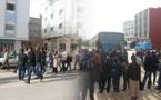 طلبة ابن الطيب والدريوش ينظمان مسيرة احتجاجية للمطالبة بتخفيض التسعيرة