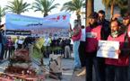 متطوعون من أجل الناظور.. يحتجون ضد قرار تحويل حديقة الأندلس إلى مركب تجاري