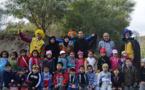 80 طفل وطفلة يحتفلون بالسنة الأمازيغية الجديدة  بغابة اسفيحة بخليج النكور بالحسيمة