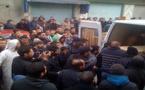 تشيع جثمان المناضل الحقوقي المتقي أشهبار في موكب جنائزي مهيب
