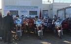 جمعية الوحدة توزع 20 دراجة ثلاثية العجلات على مستفدين بجماعة اتروكوت