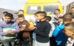 """تمسمان.. النقل المدرسي لجمعية إشنيوان للتنمية """"يناضل"""" رغم الإكراهات وغياب دعم المؤسسات"""
