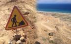 تمسمان بإقليم الدريوش: أشغال الطريق إجطي – الساحلي تتوقف لأسباب مجهولة