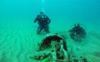 بالصور.. غواصون يكتشفون حطام سفينة بالحسيمة تعود لزمن الإستعمار