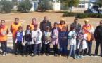 نشاط تحسيسي بمدرسة أزغار التابعة لمجموعة مدارس آيت هشام بإقليم الحسيمة