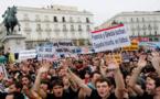 مدريد: الآلاف من الاسبان يتظاهرون ضد الحكومة