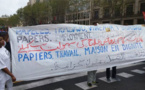 وقفة احتجاجية ببرشلونة للمطالبة بأوراق الإقامة دون إبرام عقد الشغل