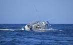 إنقلاب باخرة للتنزه في عرض بحر بني أنصار وأرباب مراكب الصيد يعلنون الإستنفار