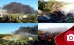 اندلاع حريق ببوعركَ يخلف خسائر مادية وموسم الصيف ينذر بحرائق أخرى