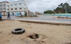 بن الطيب : انتشار الحفر و التصدعات في كثير من شوارع المدينة و مصالح البلدية و الأشغال العمومية خارج التغطية