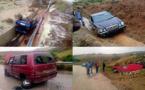 """مواطنون يوثقون بهواتفهم حوادث سير ب""""الجملة"""" على الطريق الساحلية بسبب الامطار"""