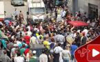السلطات تشن حملات تحرير الملك العمومي قرب المركب التجاري وسط تصادم وتجمهر إحتجاجي