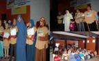تخرج الفوج الأول من المتعلمات في وضعية إعاقة بمركز التربية والتكوين التابع لجمعية الأمل للمعاقين بأزغنغان
