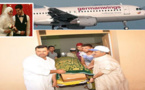 تشييع جثمان ضحية الطائرة الالمانية المشؤومة محمد الطهريوي بمقبرة سيدي منصور بزايو