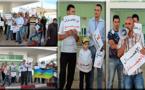 الإهمال الطبي يخرج النشطاء المتضامنين مع عائلة فارس للإحتجاج للمرة الثانية أمام المستشفى الحسني