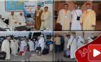 لأول مرة معتمروا الناظور يخرجون لأداء مناسك العمرة من مطار العروي