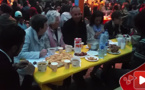 شاهدوا جانبا من أجواء الإفطار الجماعي للجالية المغربية المقيمة ببلجيكا