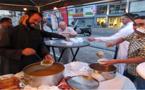 حفل إفطار جماعي كبير تحت سماء أمستردام الهولندية