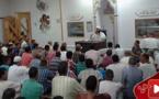 الداعية الريفي طارق بنعلي يبكي المصلين بمسجد التبشير والتعاون بمايوركا